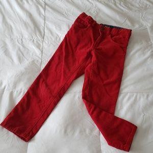 H&M boys adjustable corduroy pants SIZE 6-7Y